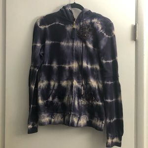 NWT Free People embroidered hoodie